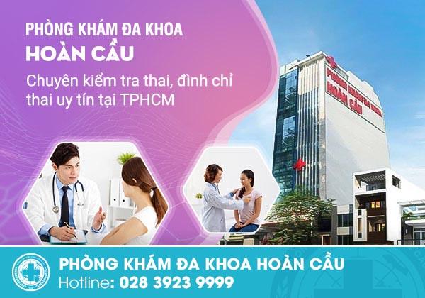 Phòng khám thai và phá thai an toàn, uy tín bậc nhất TPHCM